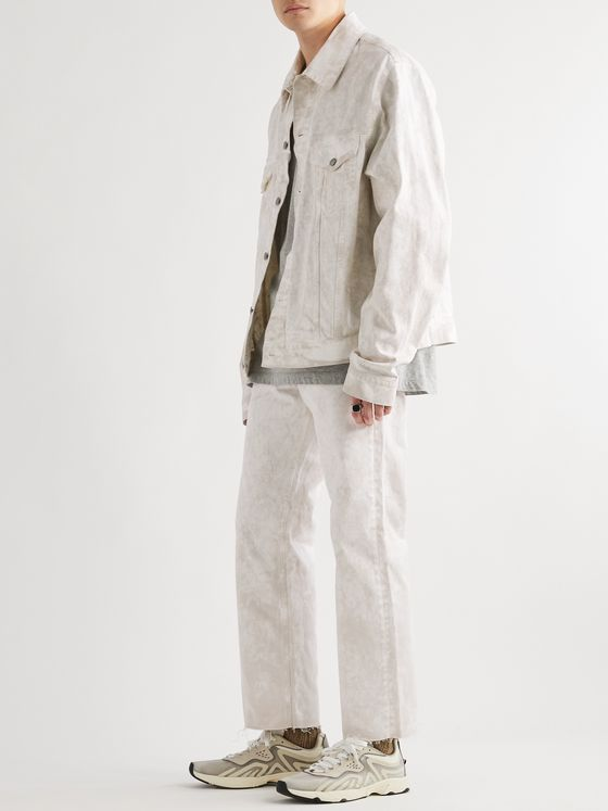 Maison Margiela Stonewashed Distressed Denim Jeans