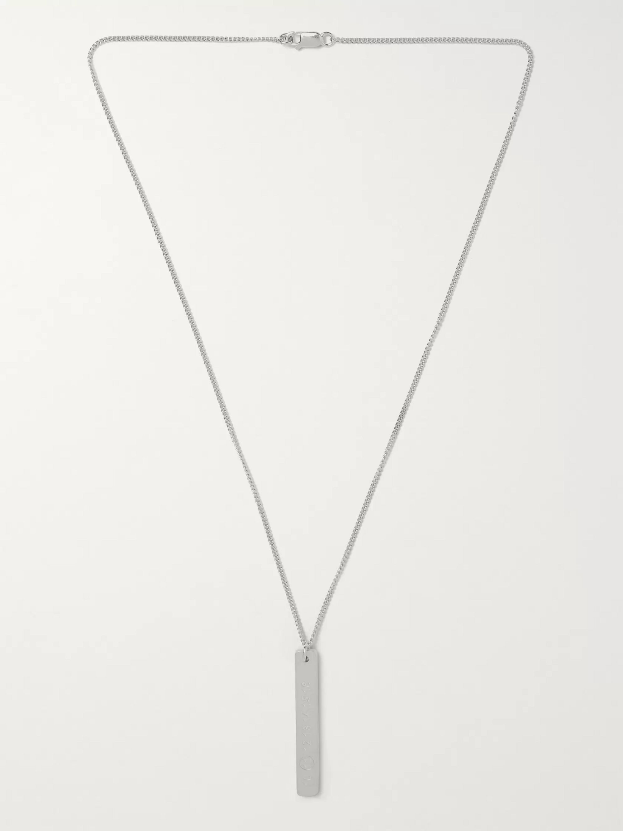 Maison Margiela Sterling Silver Necklace