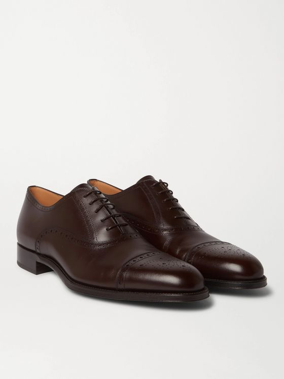 Dunhill Kensington Leather Oxford Brogues