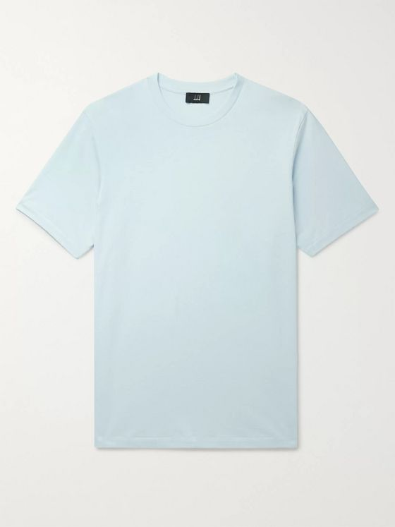 Dunhill Cotton-Jersey T-Shirt