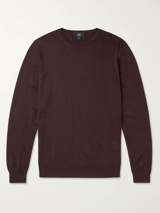 Dunhill Slim-Fit Wool Sweater