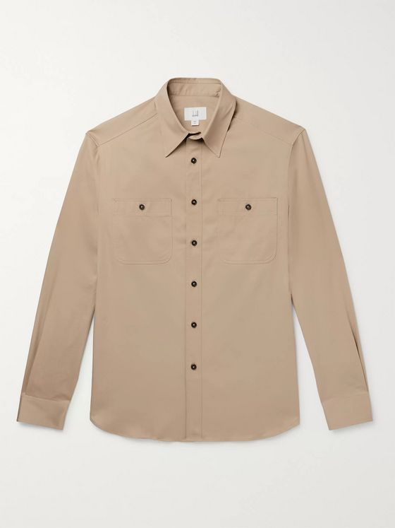 Dunhill Cotton-Twill Shirt