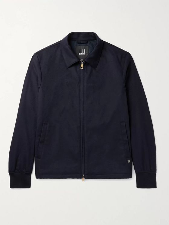 DUNHILL Wool and Cashmere-Blend Jacket
