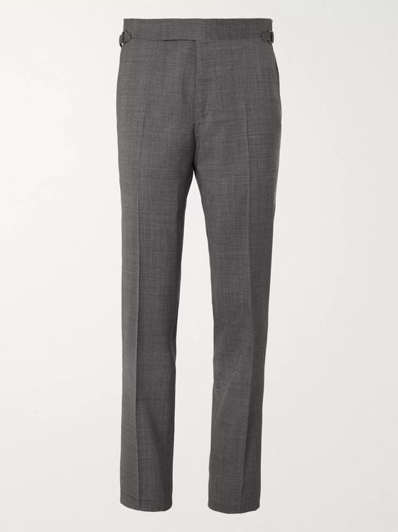 TOM FORD Slim-Fit Wool-Blend Suit Trousers