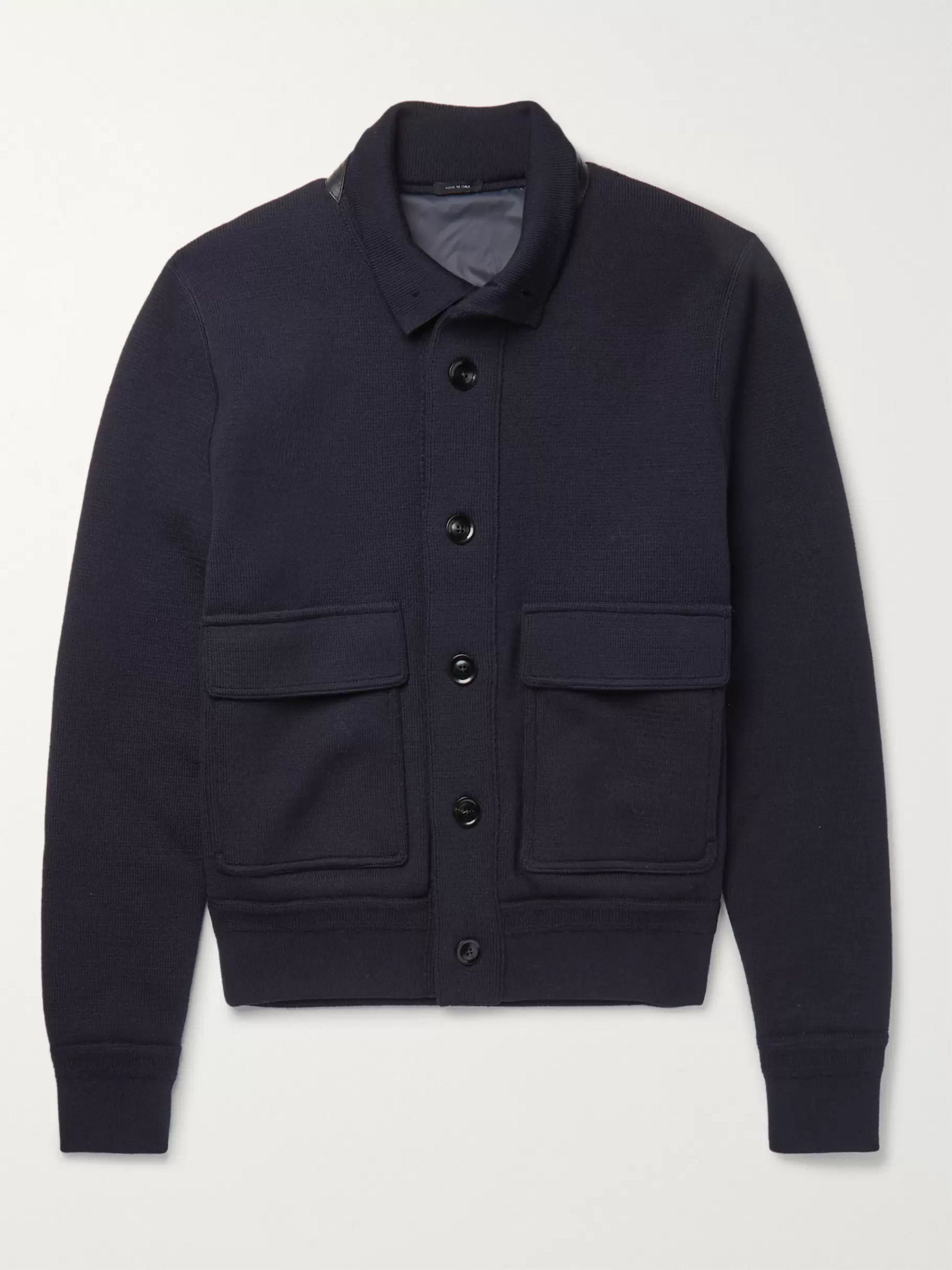 TOM FORD Wool Bomber Jacket