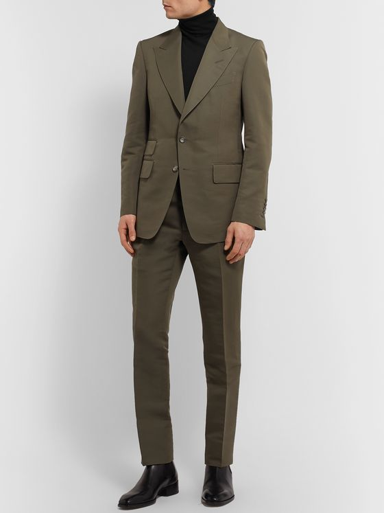 TOM FORD Slim-Fit Cashmere and Silk-Blend Rollneck