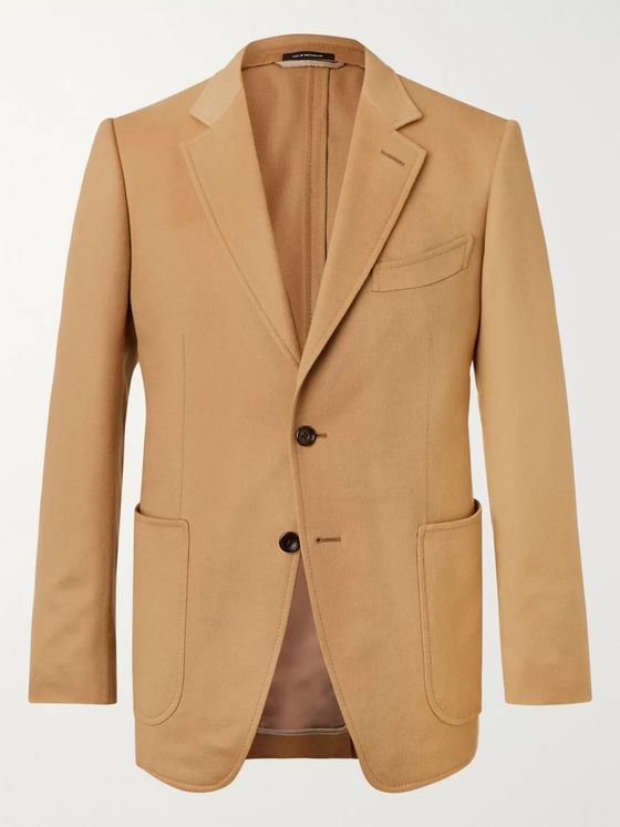 TOM FORD O'Connor Slim-Fit Unstructured Cashmere Blazer