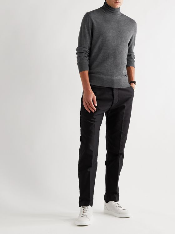TOM FORD Slim-Fit Wool Rollneck Sweater