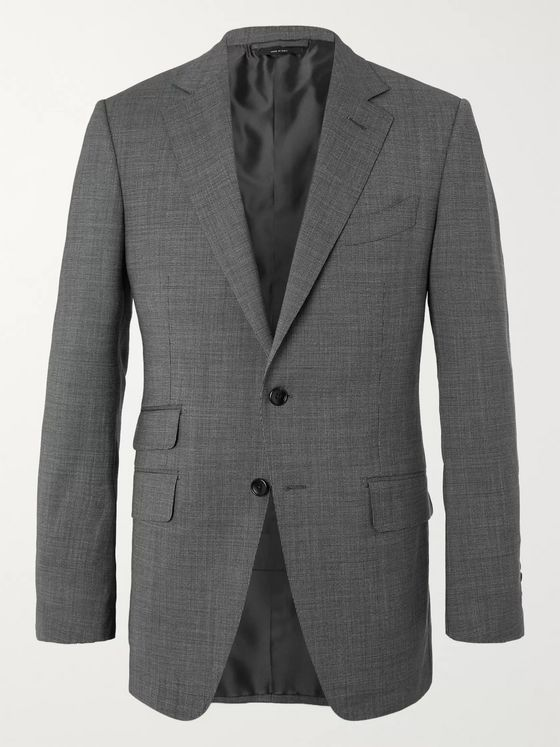 TOM FORD O'Connor Slim Fit Wool-Blend Suit Jacket