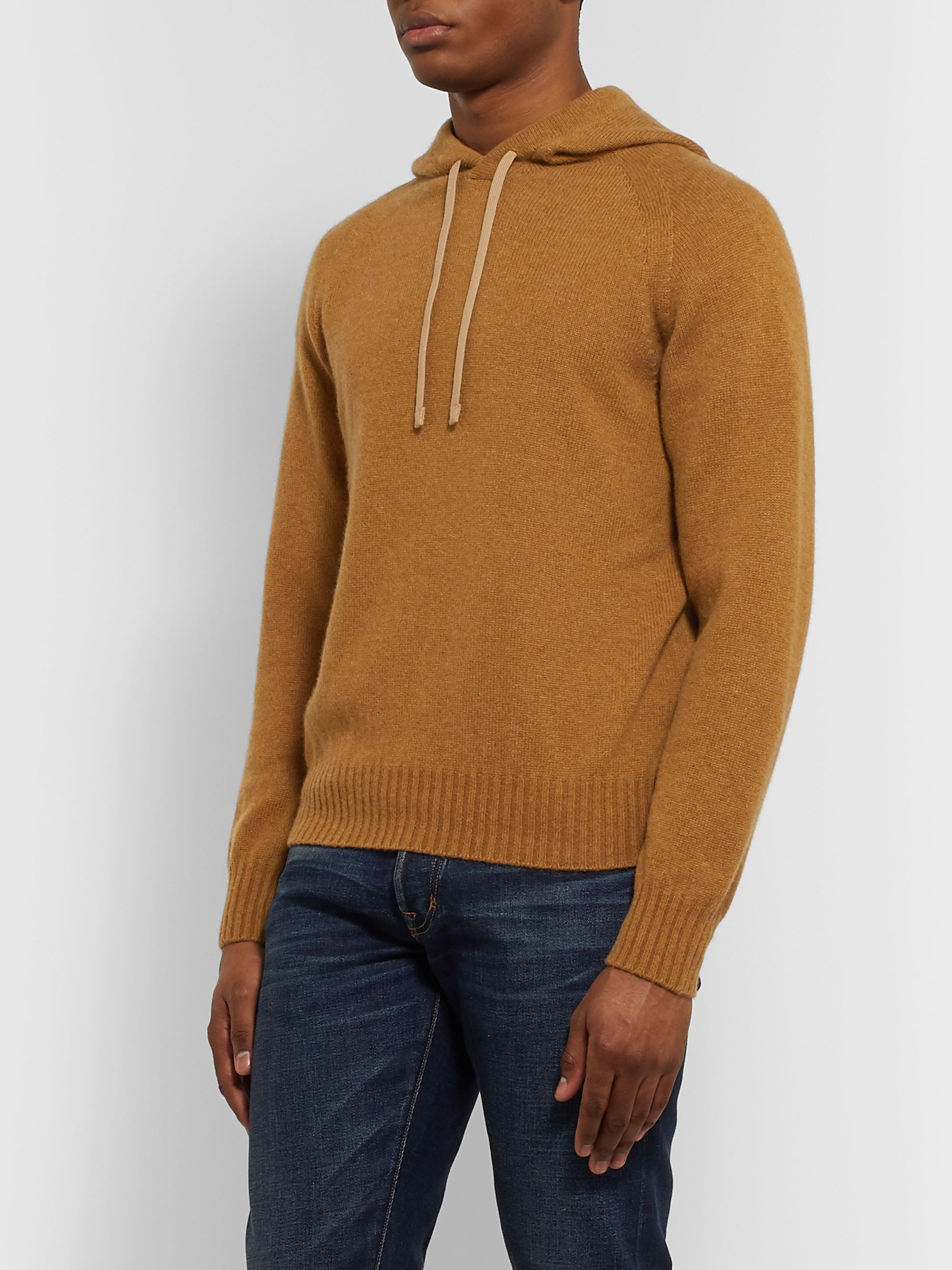 TOM FORD Slim-Fit Cashmere Hoodie