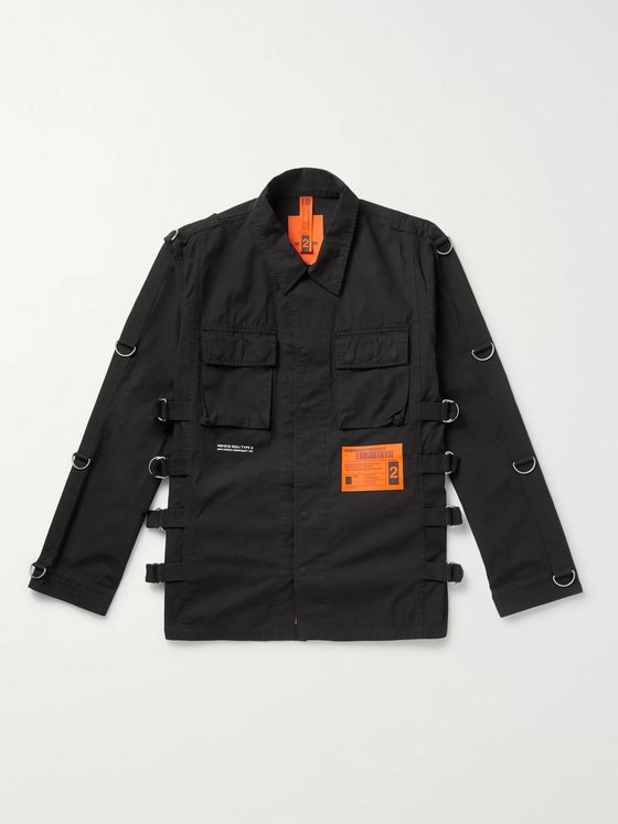 NEIGHBORHOOD Embellished Cotton-Canvas Field Jacket