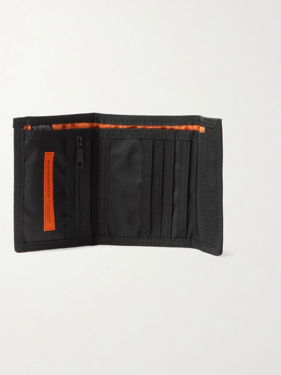 Neighborhood + Porter-Yoshida & Co Logo-Appliquéd Ripstop Billfold Wallet