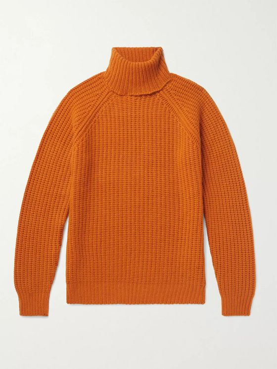 Valstar Ribbed Cashmere Rollneck Sweater