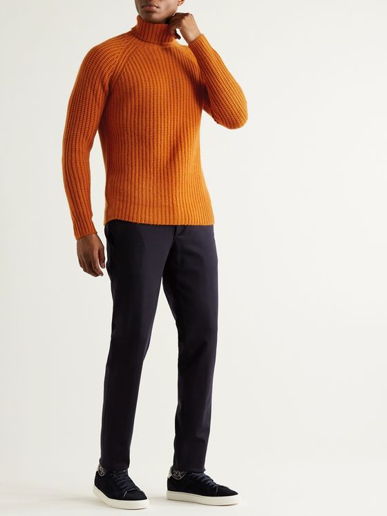 Valstar Ribbed Wool Rollneck Sweater