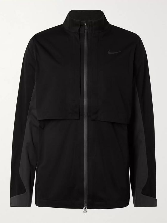 Nike Golf HyperShield Rapid Adapt Logo-Print Convertible Shell Golf Jacket