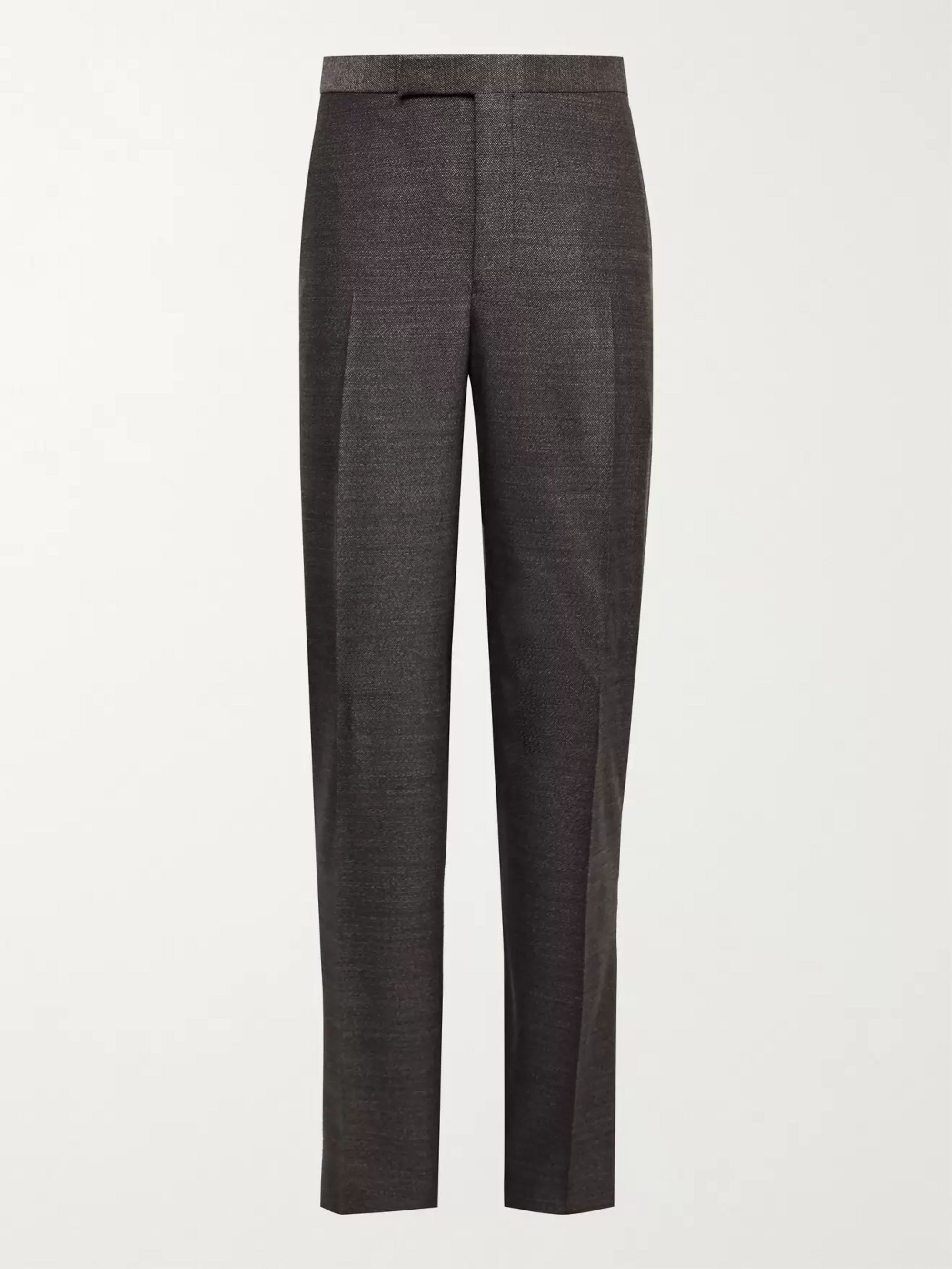 RICHARD JAMES Slim-Fit Wool Trousers