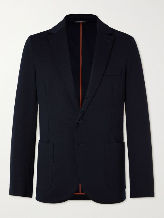 LORO PIANA Virgin Wool-Blend Blazer