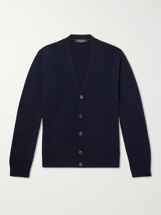 LORO PIANA Slim-Fit Cashmere Cardigan