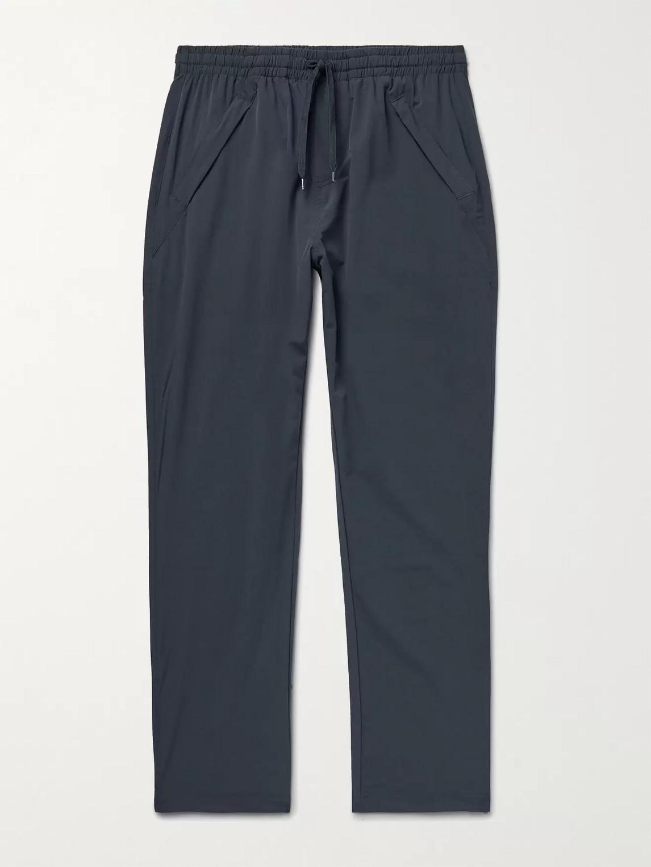 Adsum Site Nylon Drawstring Trousers In Blue