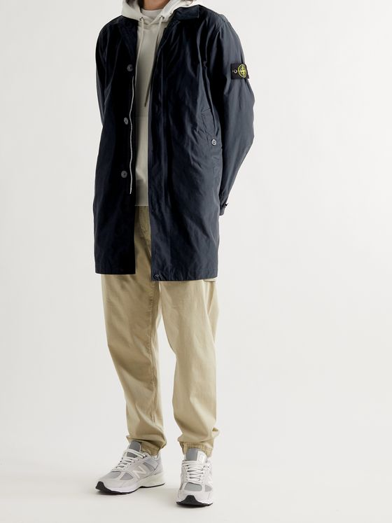 STONE ISLAND MICRO REPS Shell Trench Coat