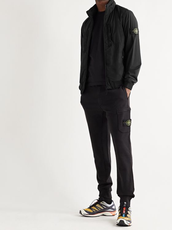 STONE ISLAND Skin Touch Stretch-Nylon Polartec Alpha Jacket