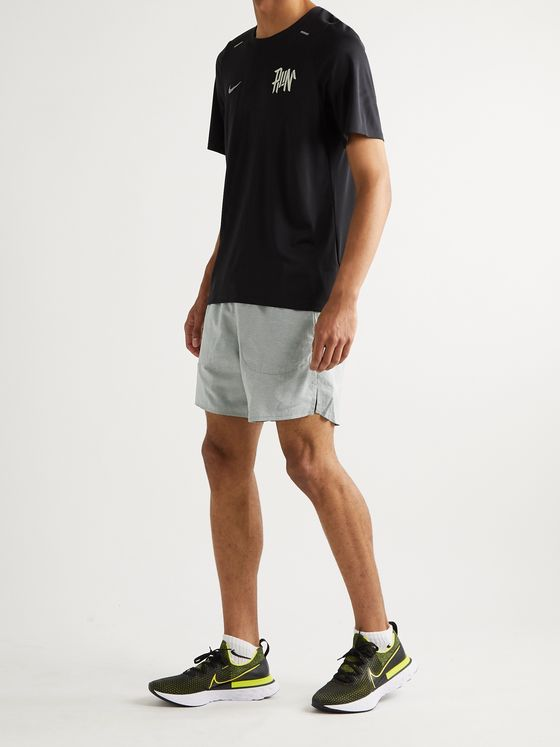 Nike Running Flex Stride Slim-Fit Mélange Dri-FIT Shorts