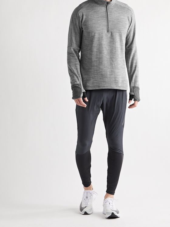 NIKE RUNNING Sphere Element 3.0 Mélange Therma Dri-FIT Half-Zip Top