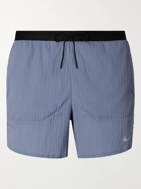 Nike Running Flex Stride Seersucker Running Shorts
