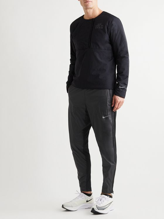 Nike Running Phenom Elite Slim-Fit Shield Shell and Stretch-Knit Running Sweatpants