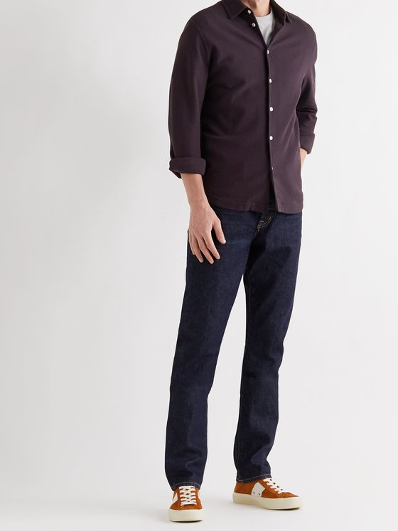 LORO PIANA Cotton-Piqué Shirt