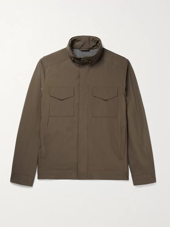 LORO PIANA Traveller Storm System Shell Jacket