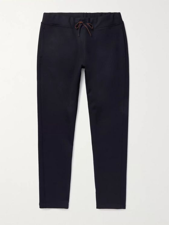 LORO PIANA Holburn Tapered Stretch Wish Virgin Wool Sweatpants