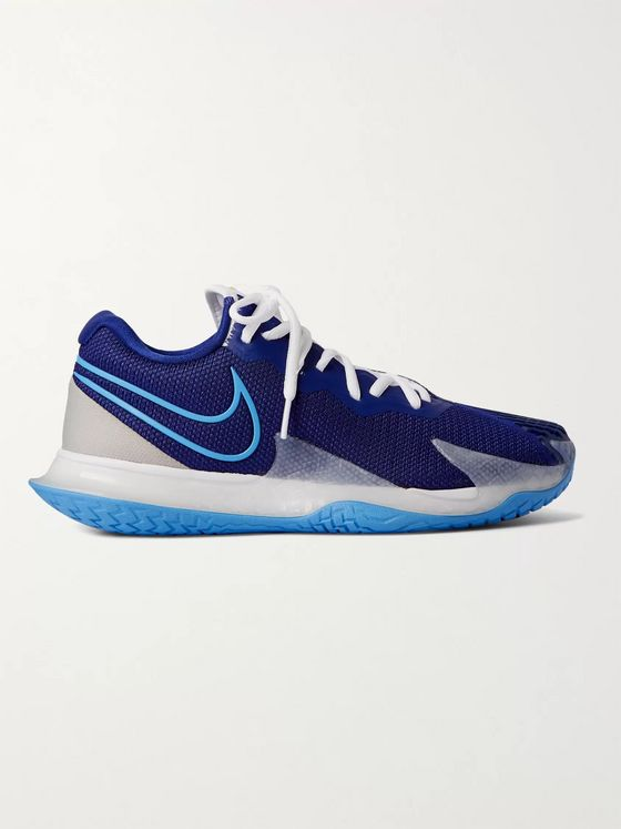 Nike Tennis + NikeCourt Air Zoom Vapor 4 Mesh Sneakers