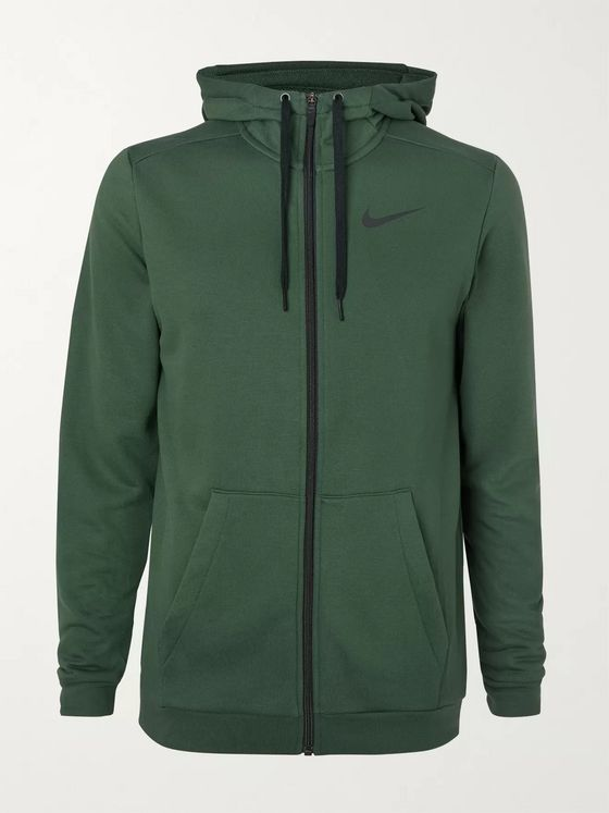 Nike Training Loopback Dri-FIT Zip-Up Hoodie