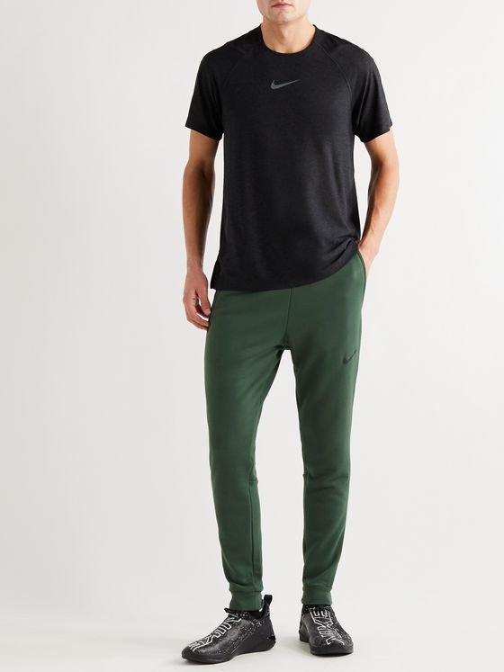 Nike Training Tapered Fleece-Back Jersey Sweatpants