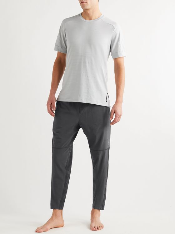 Nike Training Tapered Mesh-Panelled Dri-FIT Yoga Sweatpants