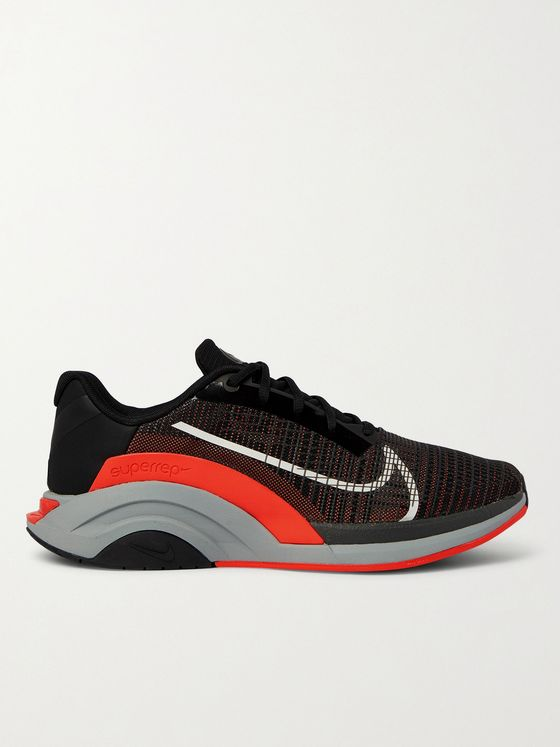 Nike Training ZoomX SuperRep Surge Coated-Mesh and Neoprene Sneakers