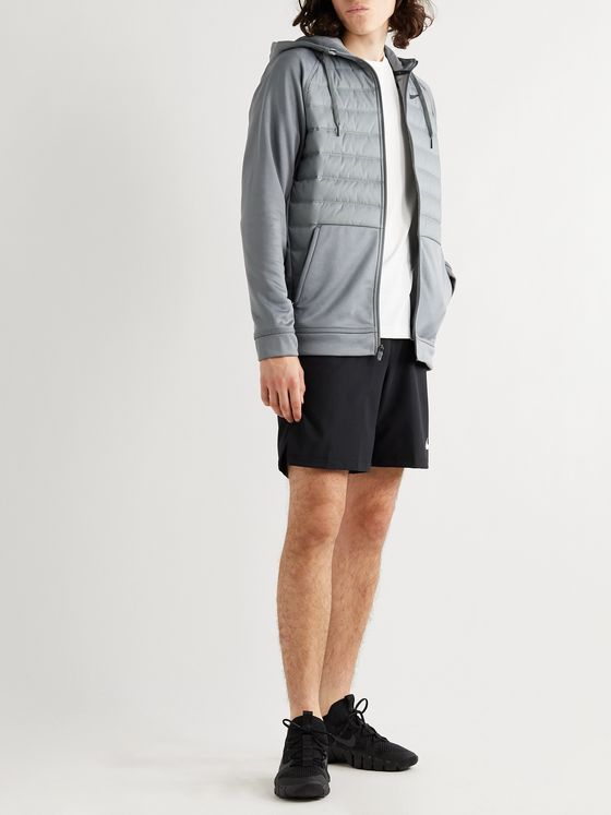 Nike Training Panelled Quilted Shell and Therma Jacket