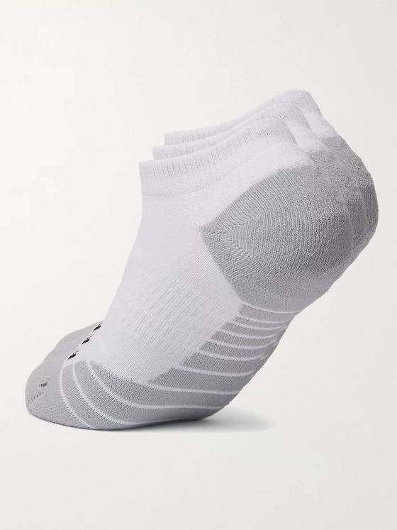 NIKE TRAINING Three-Pack Everyday Cushioned Dri-FIT No-Show Socks