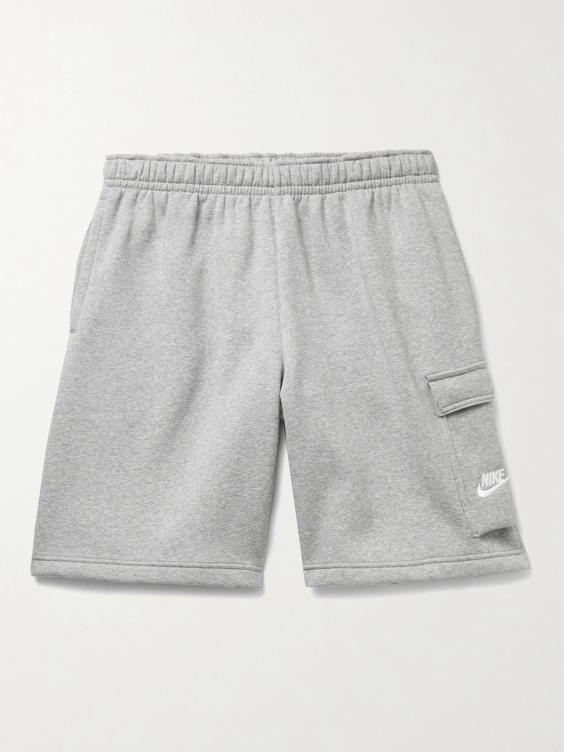 Nike Shorts SPORTSWEAR CLUB WIDE-LEG FLEECE-BACK COTTON-BLEND JERSEY CARGO SHORTS