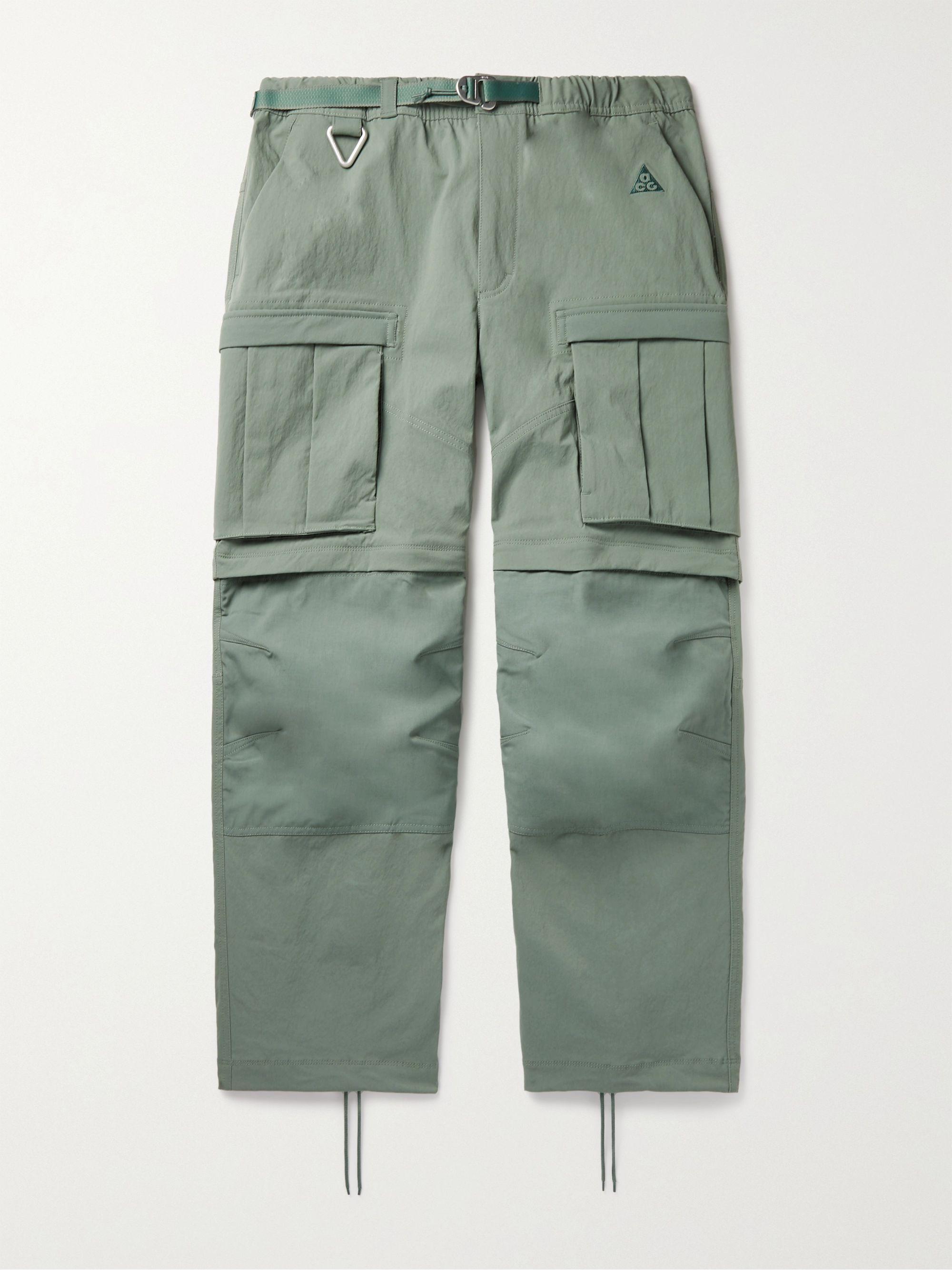 NIKE ACG NRG Smith Summit Belted Nylon-Blend Cargo Trousers