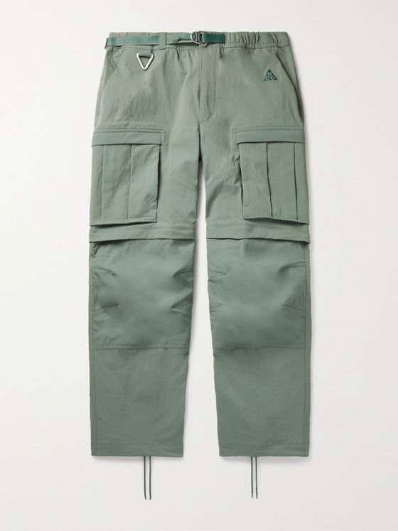 NIKE ACG NRG Smith Summit Belted Nylon-Blend Cargo Trousers