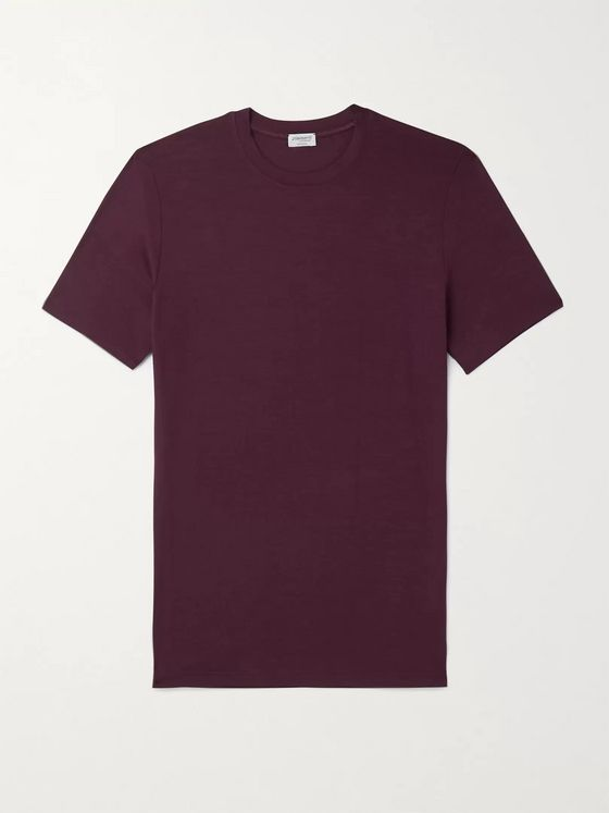 ZIMMERLI Pureness Slim-Fit Stretch Micro Modal T-Shirt