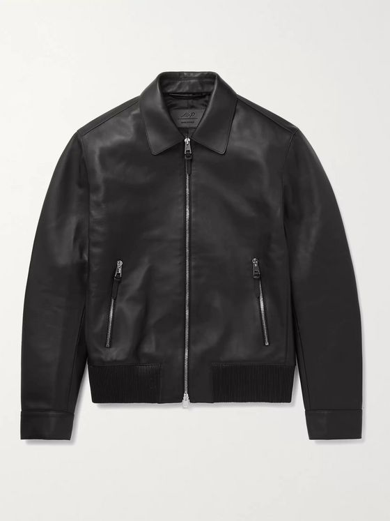 MR P. Nappa Leather Blouson Jacket