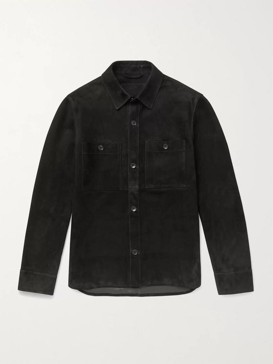 MR P. Suede Overshirt