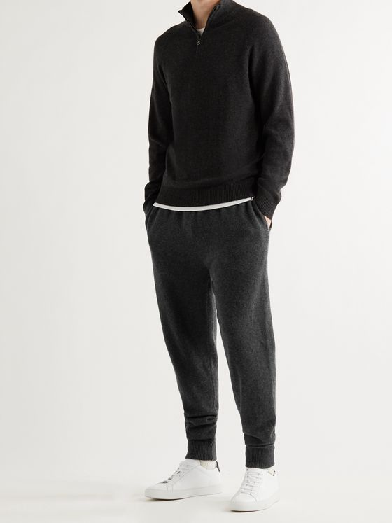 DEREK ROSE Finley 2 Tapered Cashmere Sweatpants