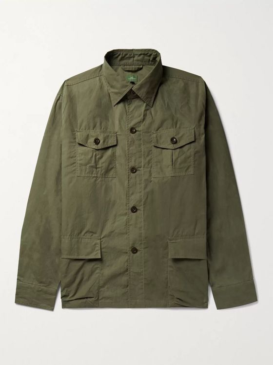 Sid Mashburn Cotton-Canvas Jacket