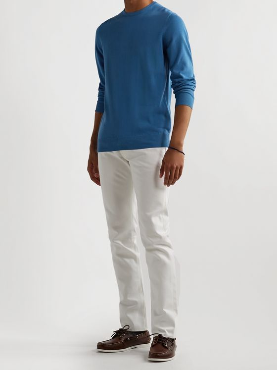 Sid Mashburn Cotton Sweater