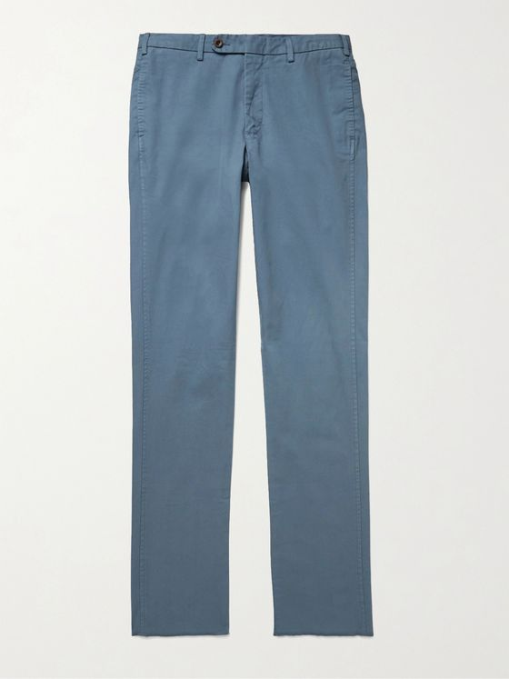 Sid Mashburn Cotton-Twill Chinos