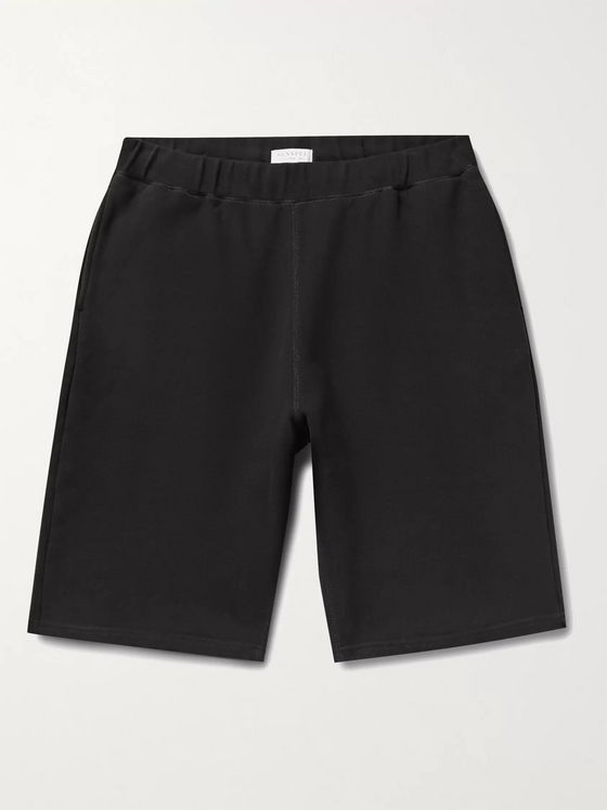 SUNSPEL Loopback Cotton-Jersey Shorts